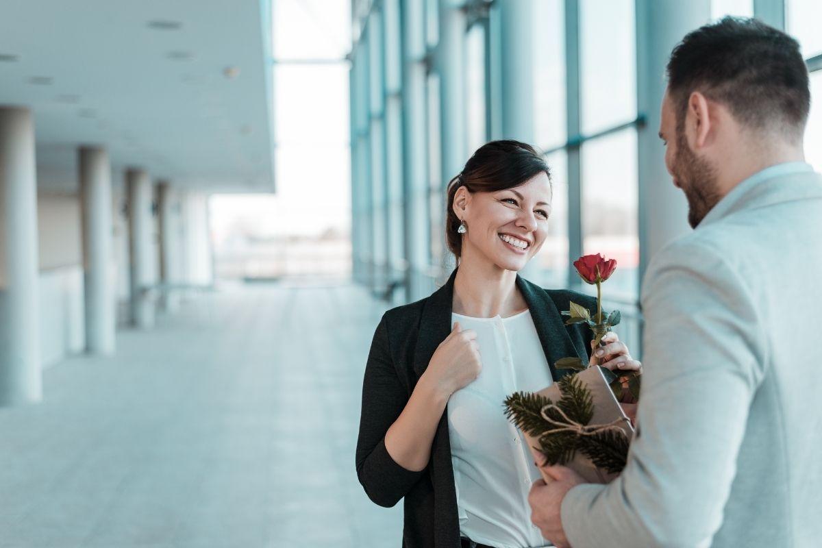 making an office romance work